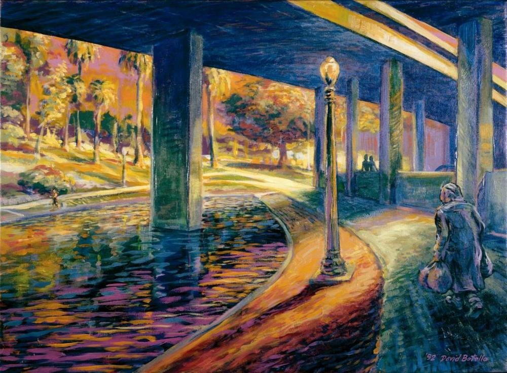 David Botello - Alone & Together Under the Freeway, 1992