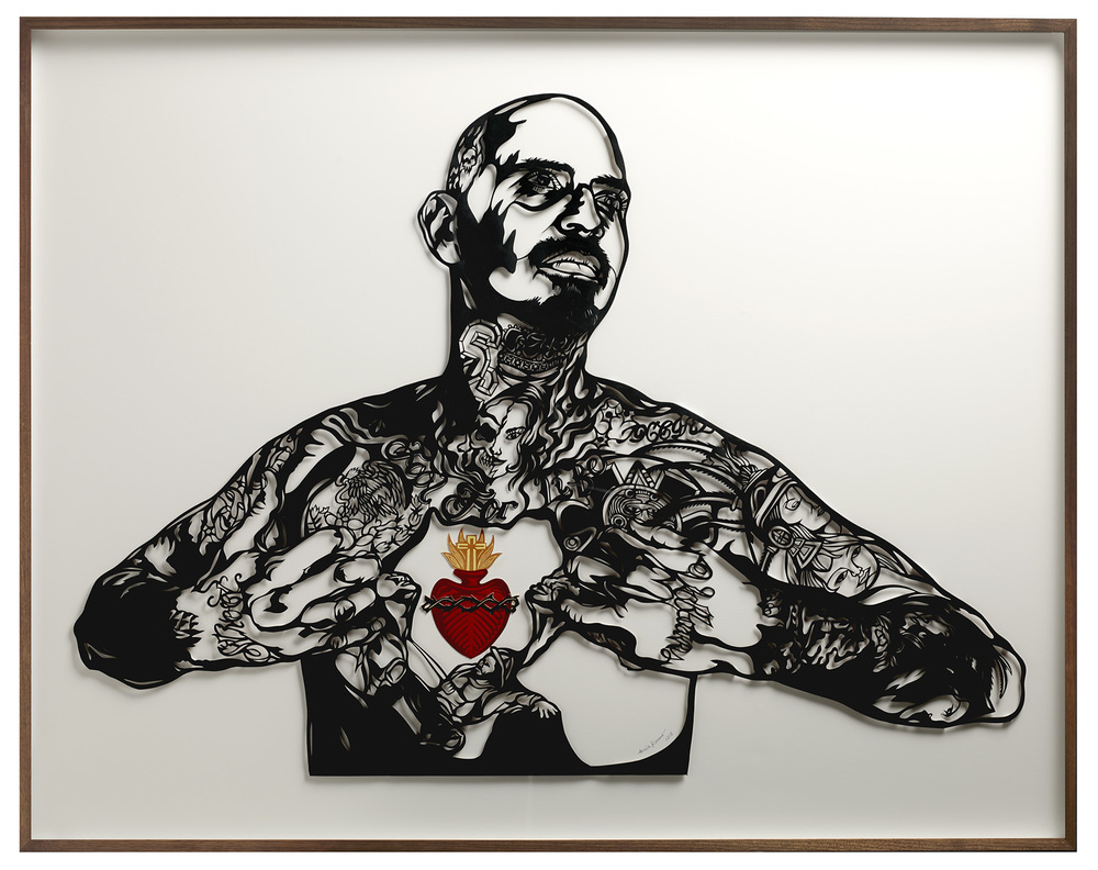 Sandra Romero - Sacred Heart, 2013