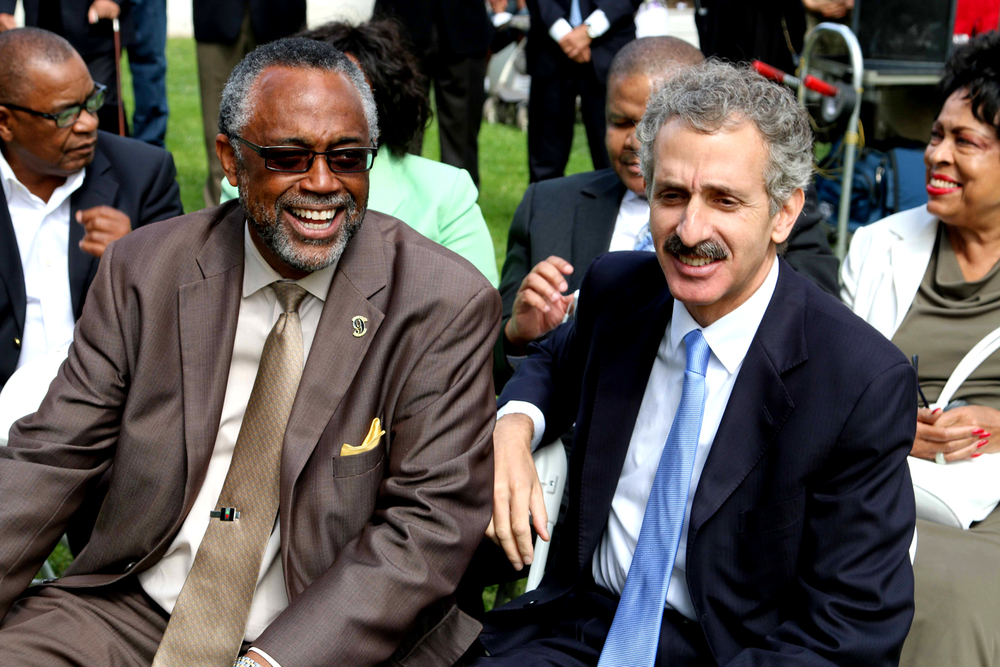 COUNCILMEMBER CURREN D.PRICE Jr, LOS ANGELES CITY ATTORNEY, MIKE FEUER.