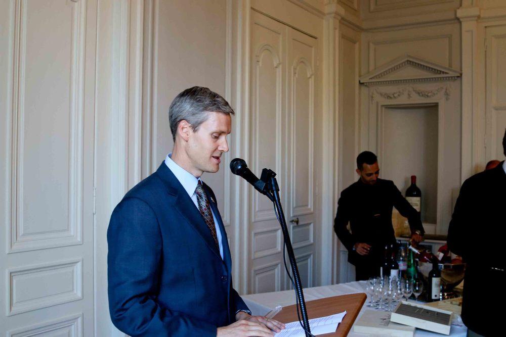 U.S. Consul General, Thomas Wolf