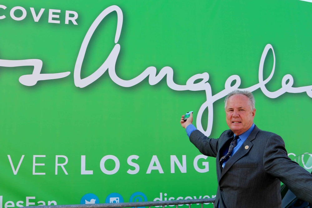 Councilmember 4th District, Tom LaBonge