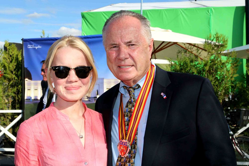 Councilmember Tom LaBonge and his daughter,  Mary-Kate LaBonge