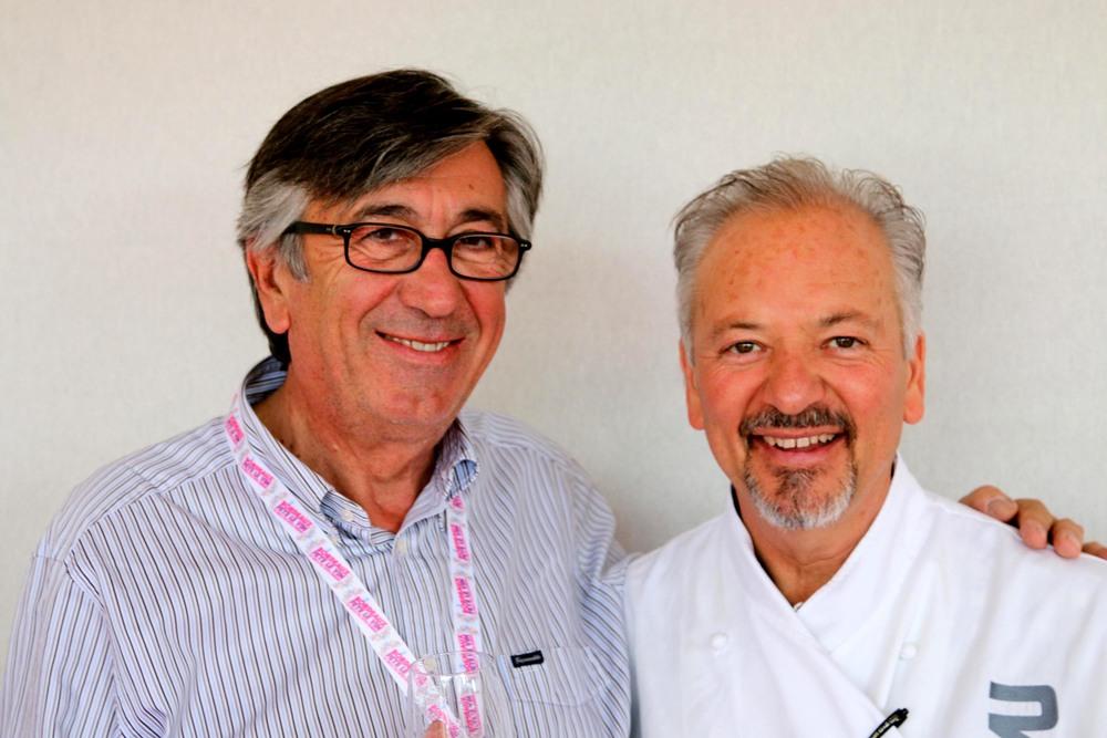 Deputy Mayor of Bordeaux, Stephan Delaux withJohn Sedlar