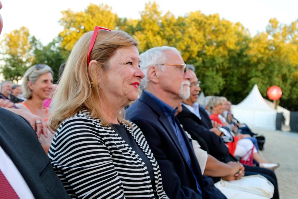 Olga Garay with her husband, Kerry.