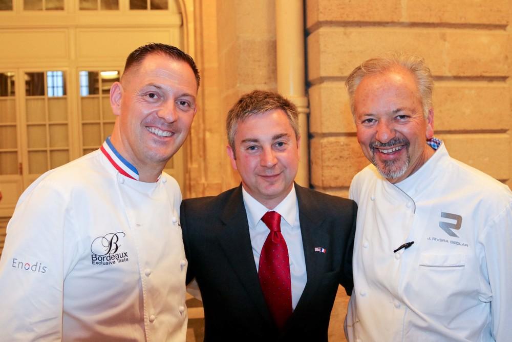 Chef Françoise Adamski, Scott Dunn, Chaucher Logistics Group, and Chef John Sedlar