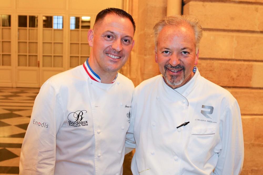 Chefs François Adamski and John Sedlar