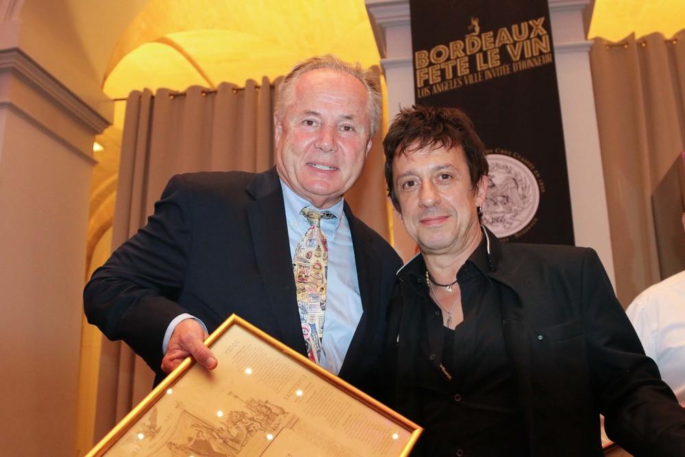 Councilmember Tom LaBonge and Film Composer, Eric Serra
