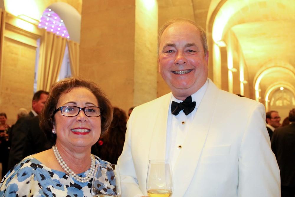 Lynnette Amerian, Chief of Protocol for Mayor Eric Garcetti and her husband, Bruce Lloyd Bogstad