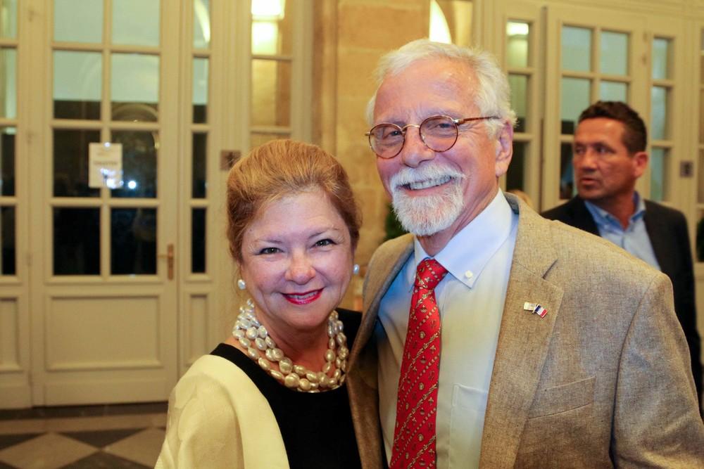 Olga Garay-English, Senior Advisor to Local and International Programs, and her husband Kerry English