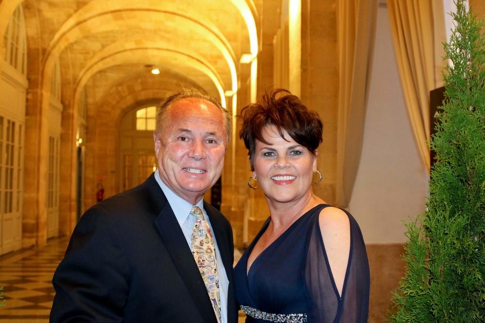 Councilmember Tom LaBonge and his wife, Brigid LaBondge