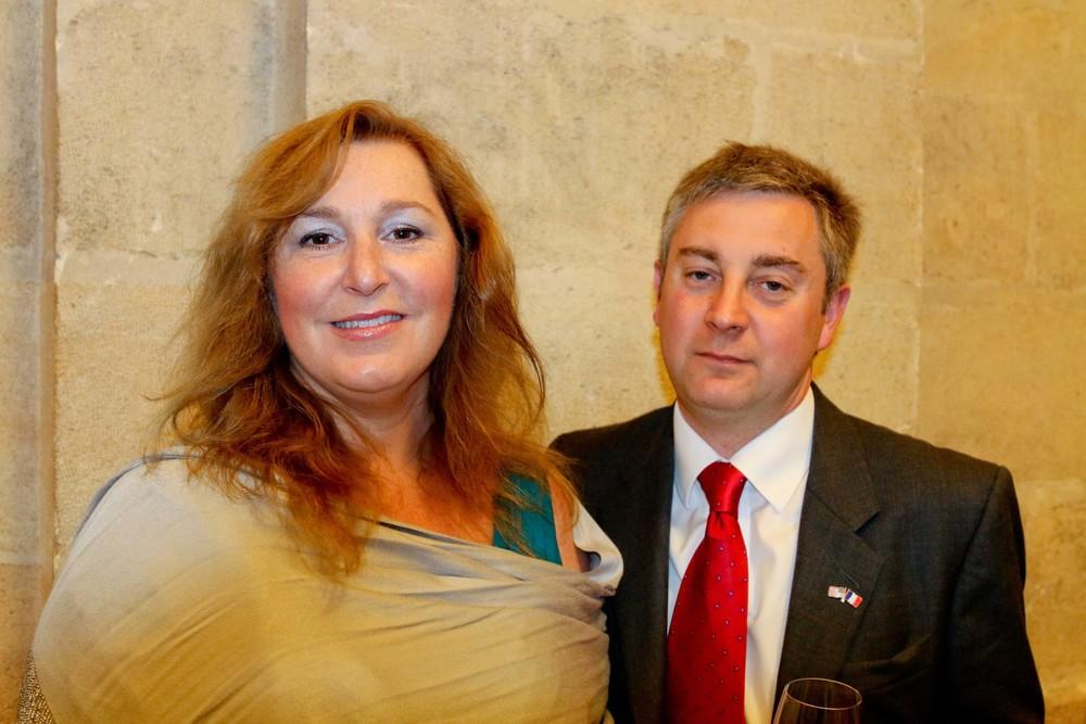 Mandy Dunn and Scott Dunn, SVP Global Development, Chaucer Logistics Group