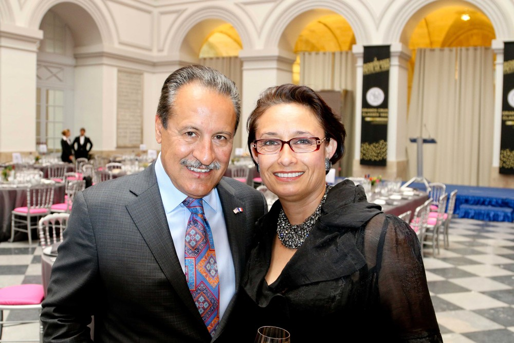 Castulo de la Rocha,President and CEO of AltaMed Health Services Corporation andZoila D. Escobar,Vice President of Strategic Development and Community Support and the President of the AltaMed Foundation