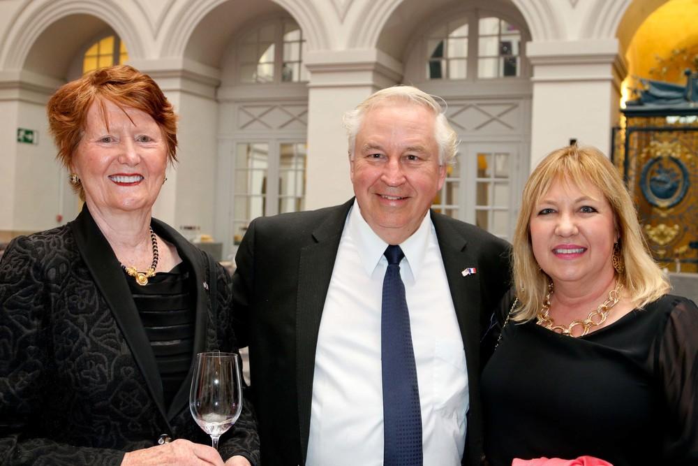 Frances Ardolf, George Braunstein, and Laura Braunstein