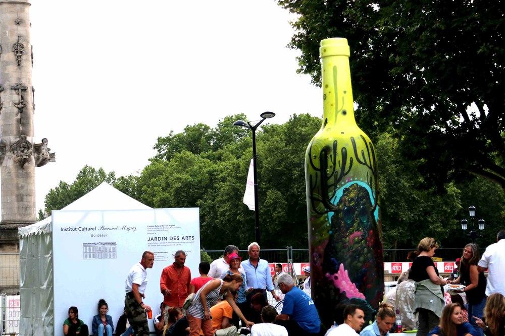 The Arts Garden at Bordeaux Fête Le Vin