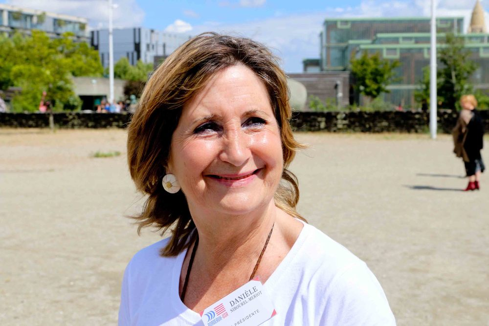 Daneille Nibourel-Meriot, President of Bordeaux-USA Association