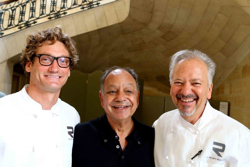 Andrew Douglas, Rivera Restaurant, Cheech Marin and Chef of Note, John Sedlar