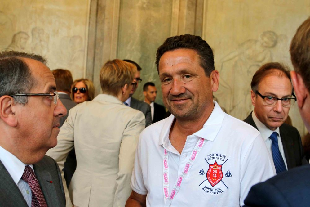 Laurent Maupile, Direc  tor of Bordeaux Grands Evénements