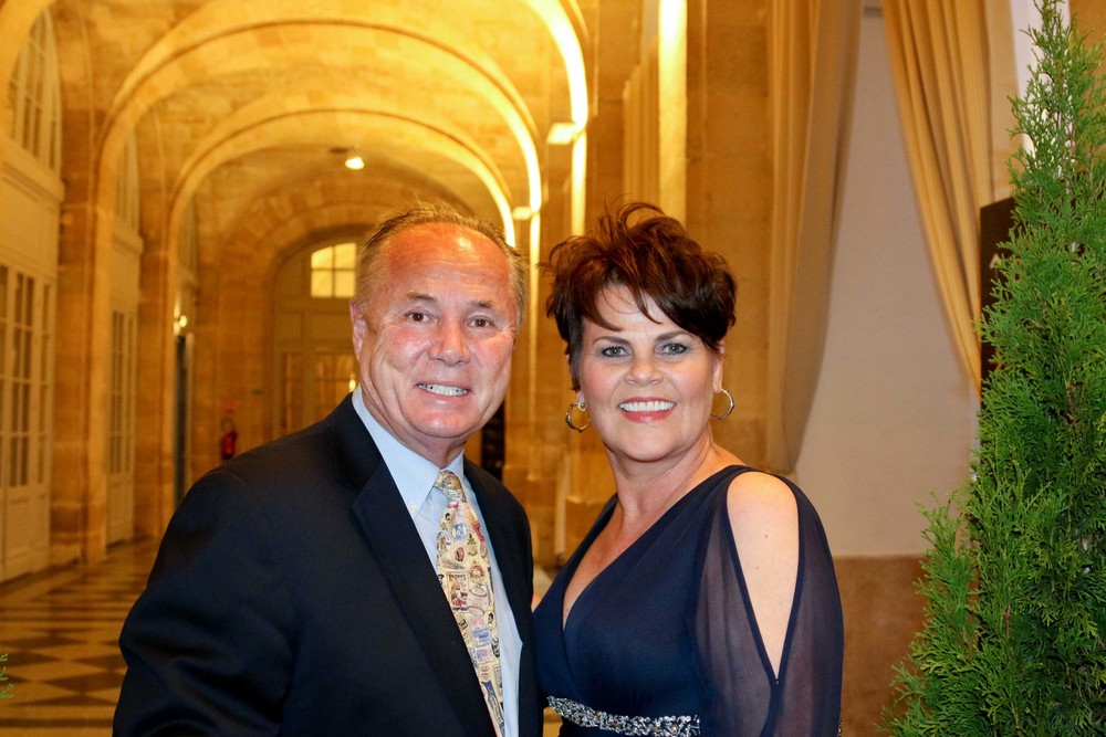 Councilmember Tom LaBonge and his wife Brigid