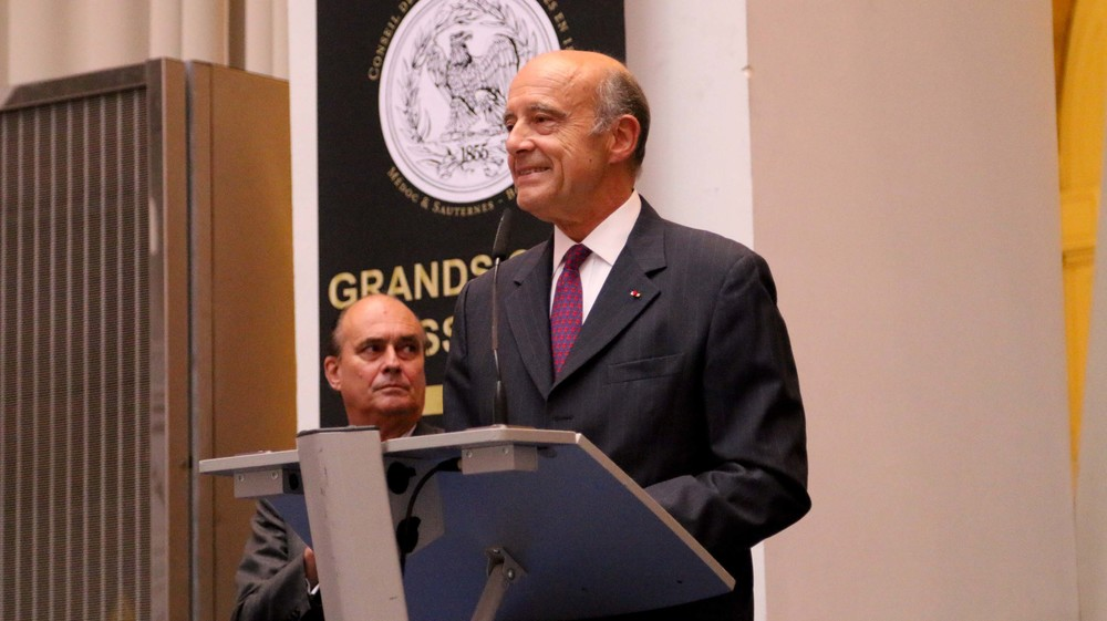 Mayor Alain Juppe