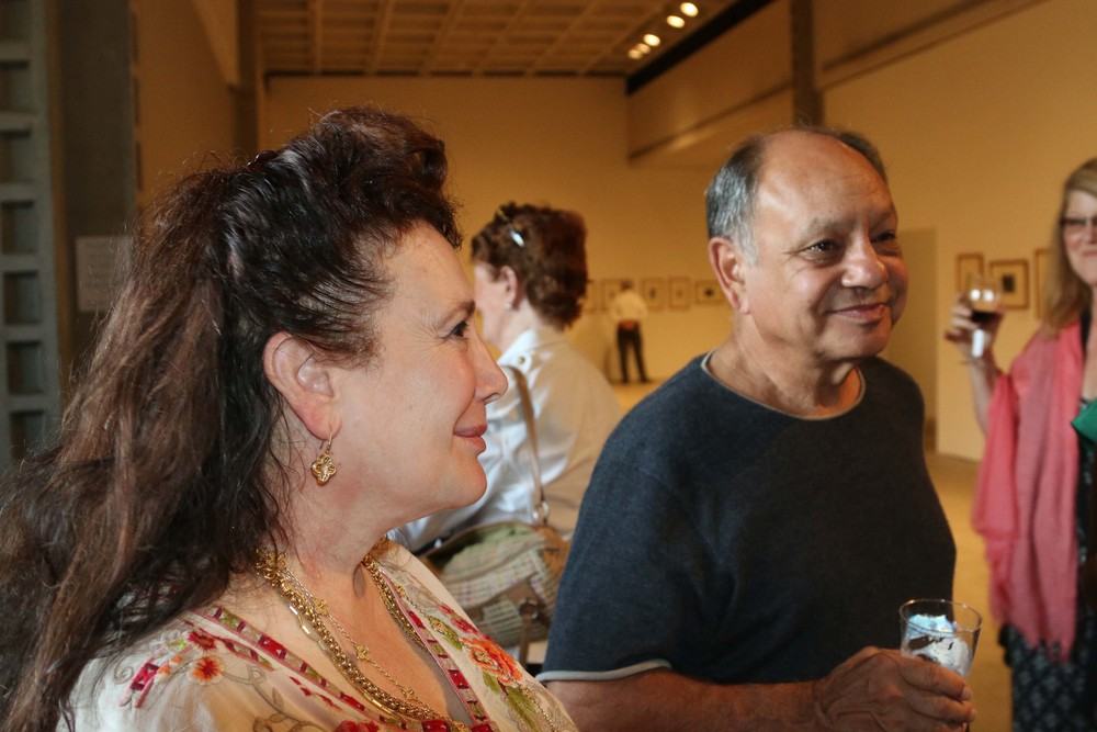 Donelle Dadigan and Cheech Marin