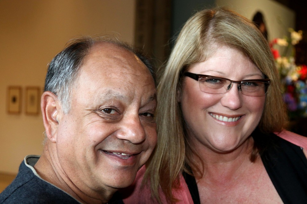 Cheech Marin and Melissa Richardson Banks
