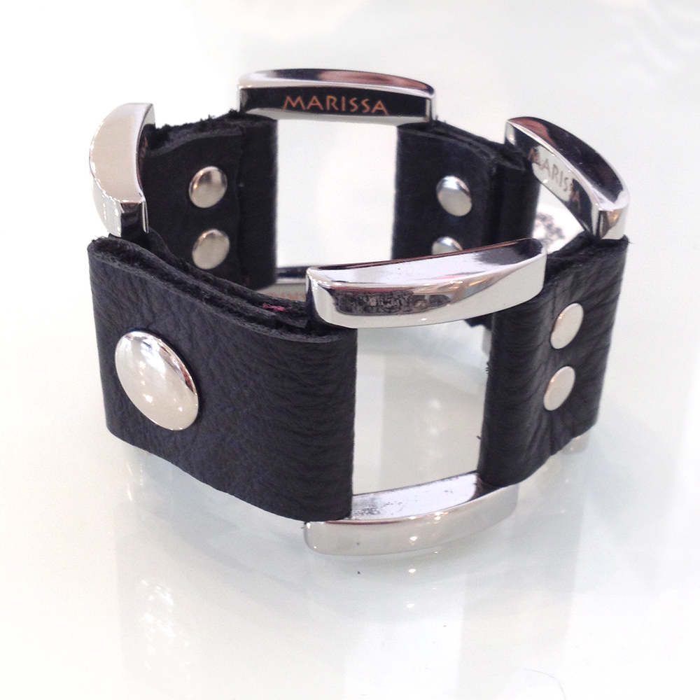 genuine leather buckle cuff now $29 originally $58