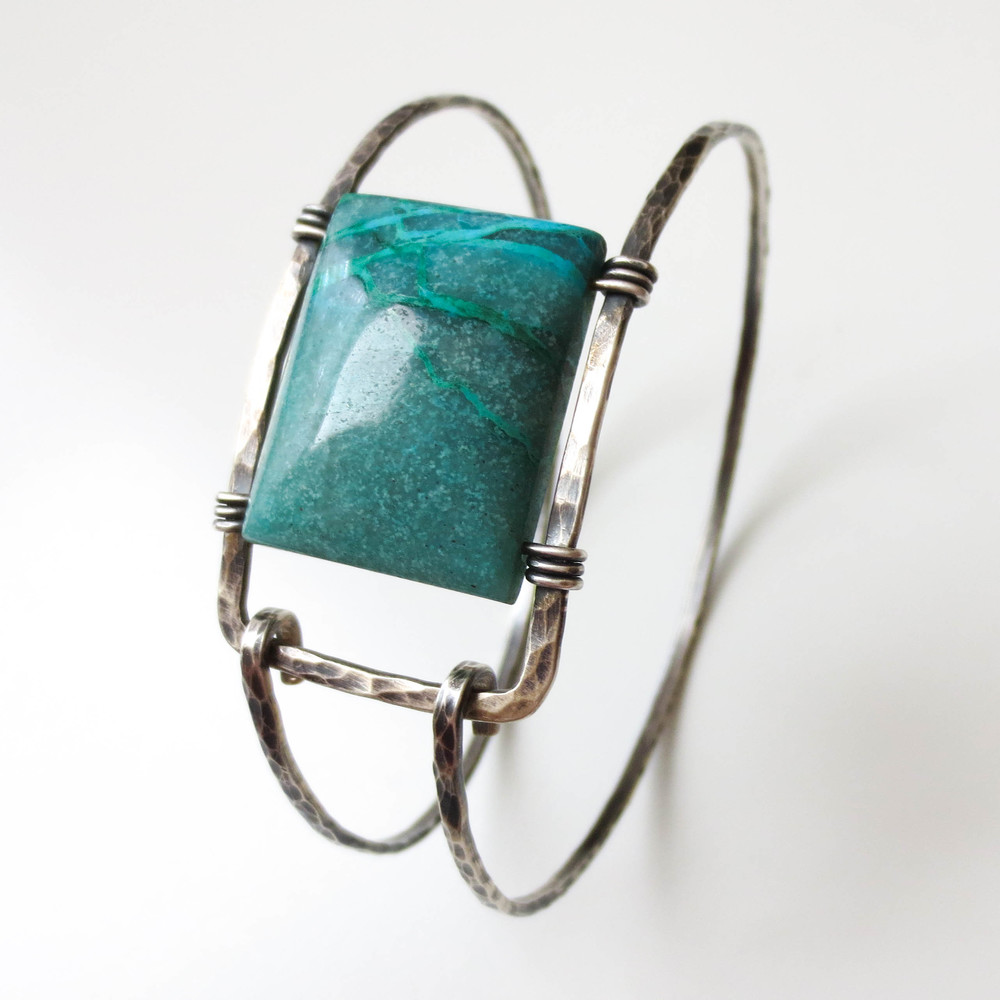 turquoise | oxidized silver