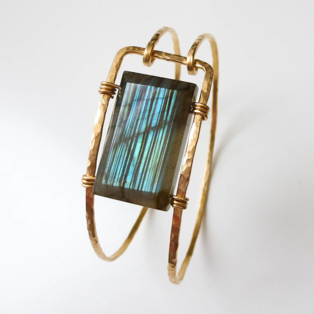 labradorite | 14kt gold-filled