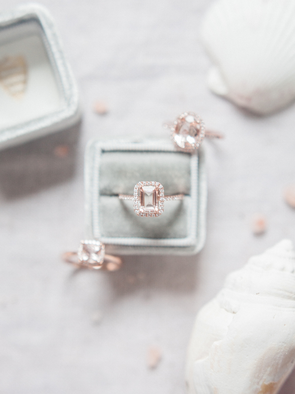 WEDDING WEDNESDAY | ROSE GOLD X MORGANITE ENGAGEMENT RINGS BY NAN LEE // PHOTOS BY: DANIELLE M. SABOL