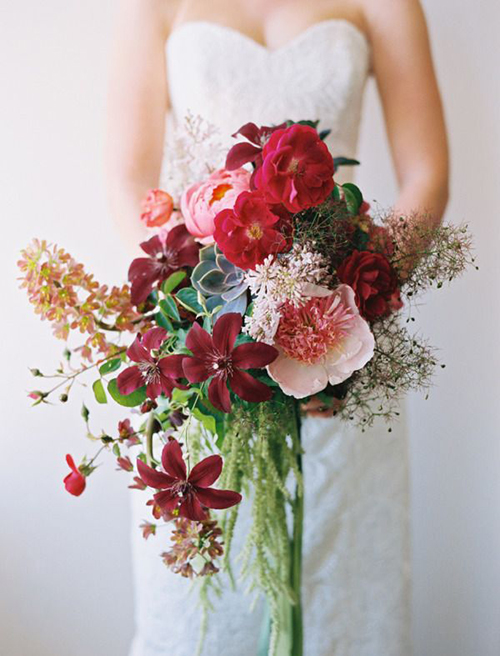 florals by  Chestnut & Vine  // photo by  Leo Patrone