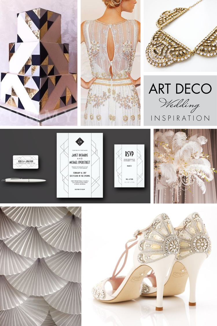 Wedding Wednesday | Art Deco — Nan Lee Jewelry
