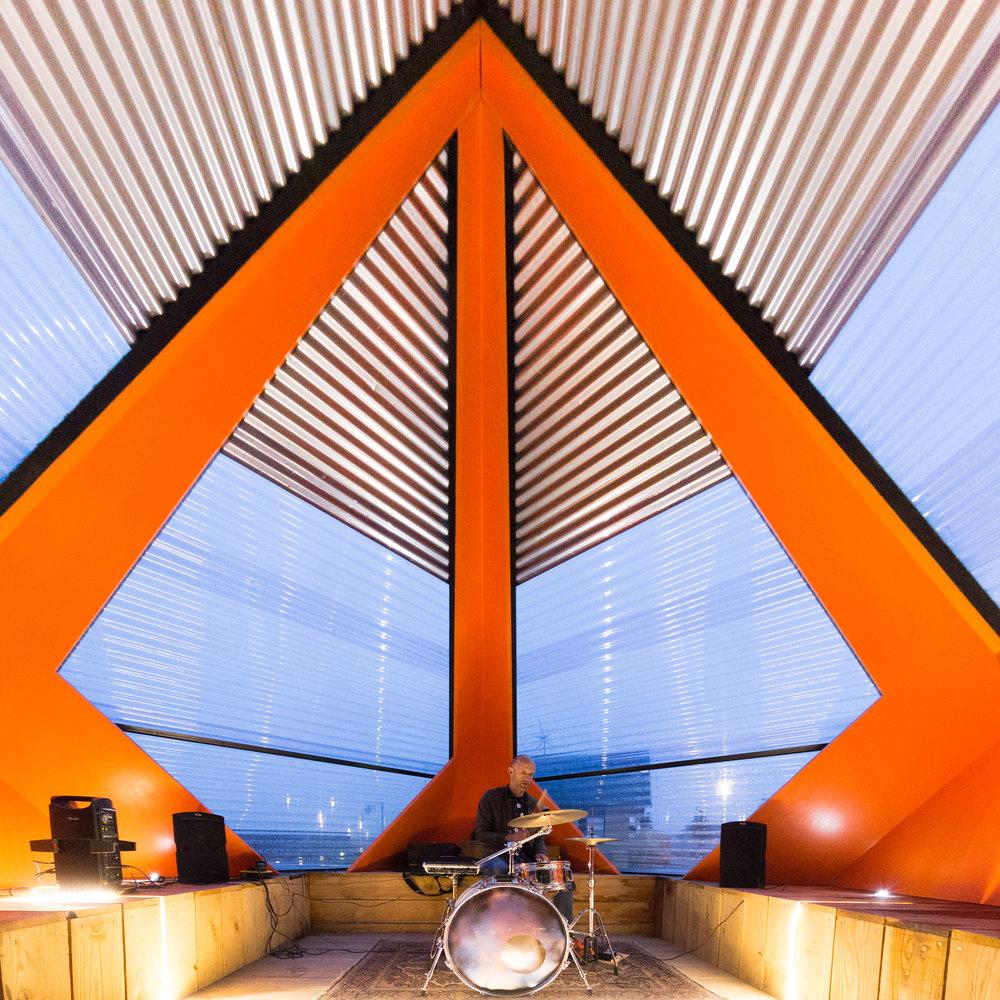 KAPKAR/ SF-P7S, een paviljoen