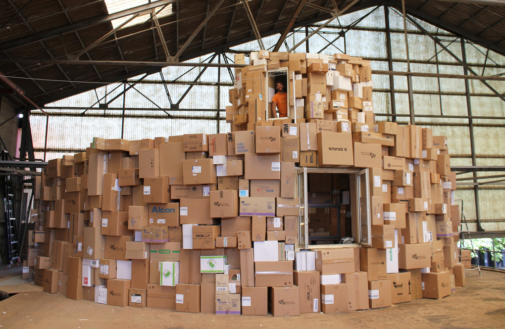 FABRIKAAT #1 | Kartonnen huis