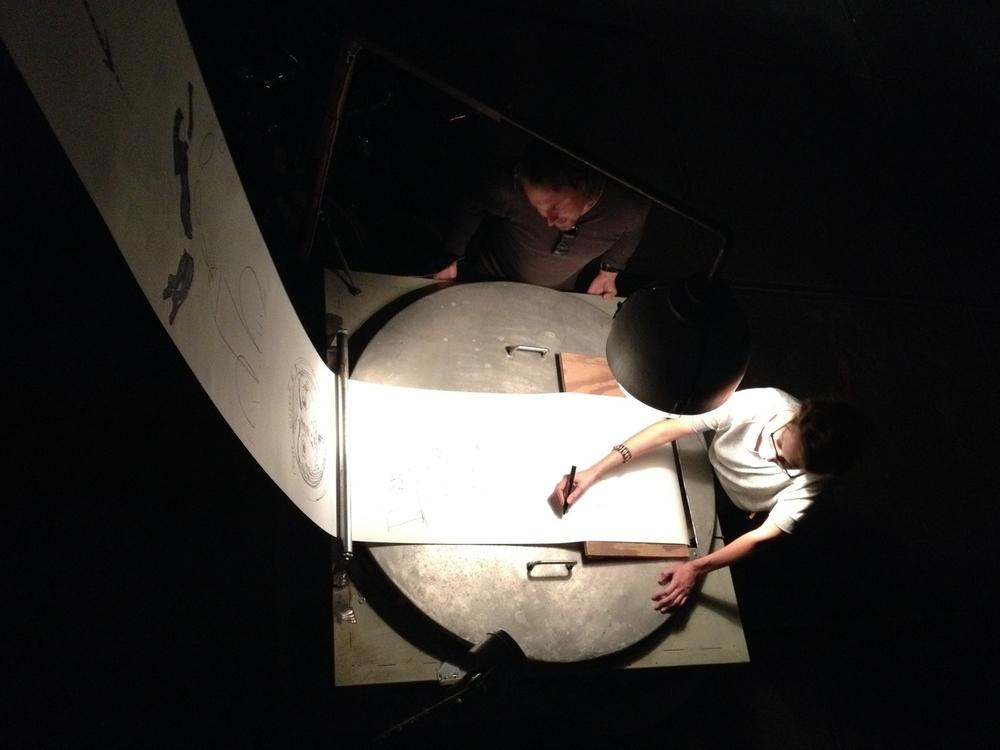 De tekenmachine @ Big Draw Festival Nijmegen