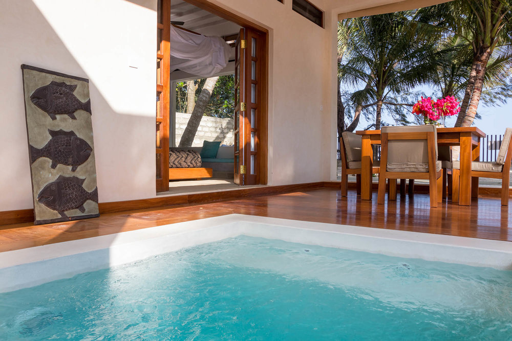 Marula Beach Cottage - diani beach (galu)Sleeps 4from kes 25,000 per day (B&B)*air-conditioned*