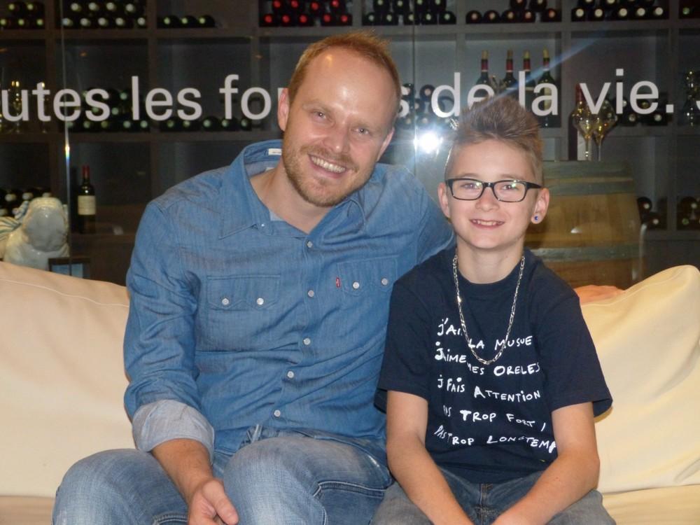 avec Luc GARCIA, batteur de 12 ans qui déchire !