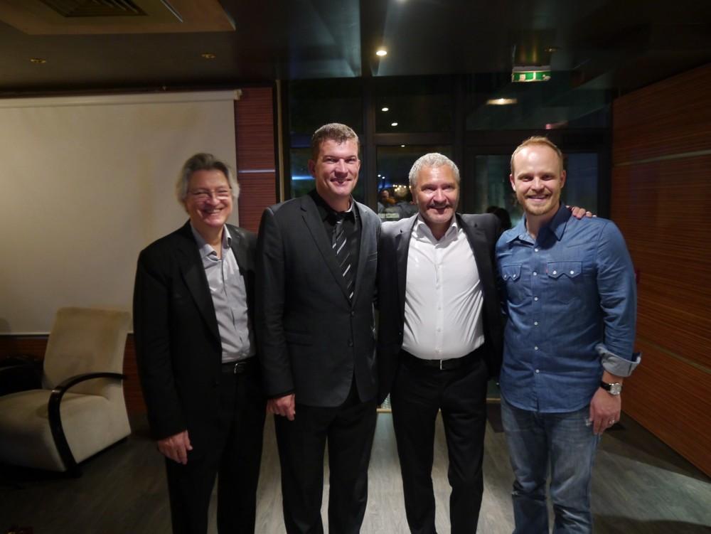 avec l'équipe de Pierre-Yves SORIN