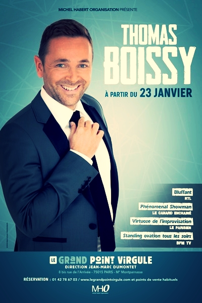 Thomas BOISSY au Grand Point Virgule