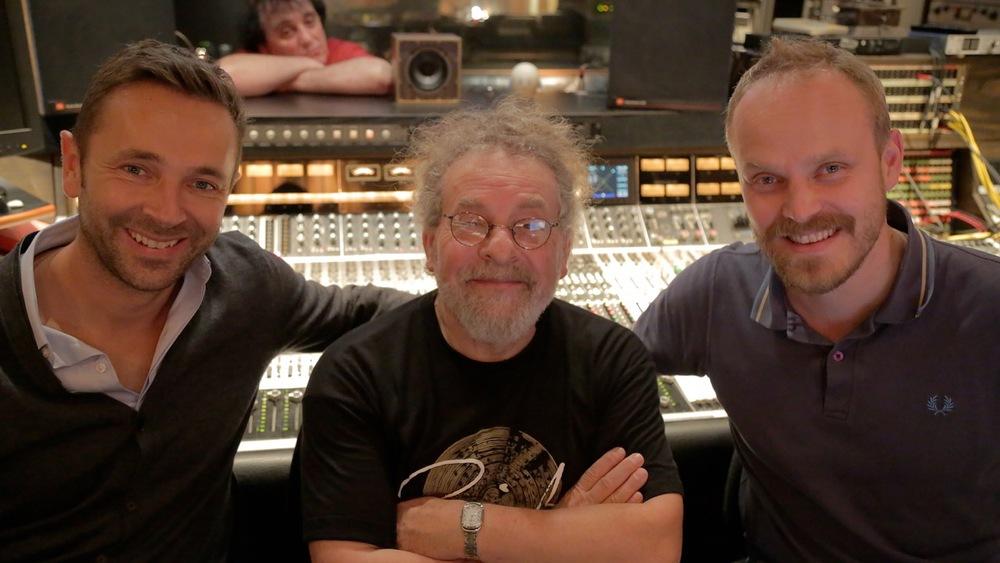 Avec le batteur André Ceccarelli
