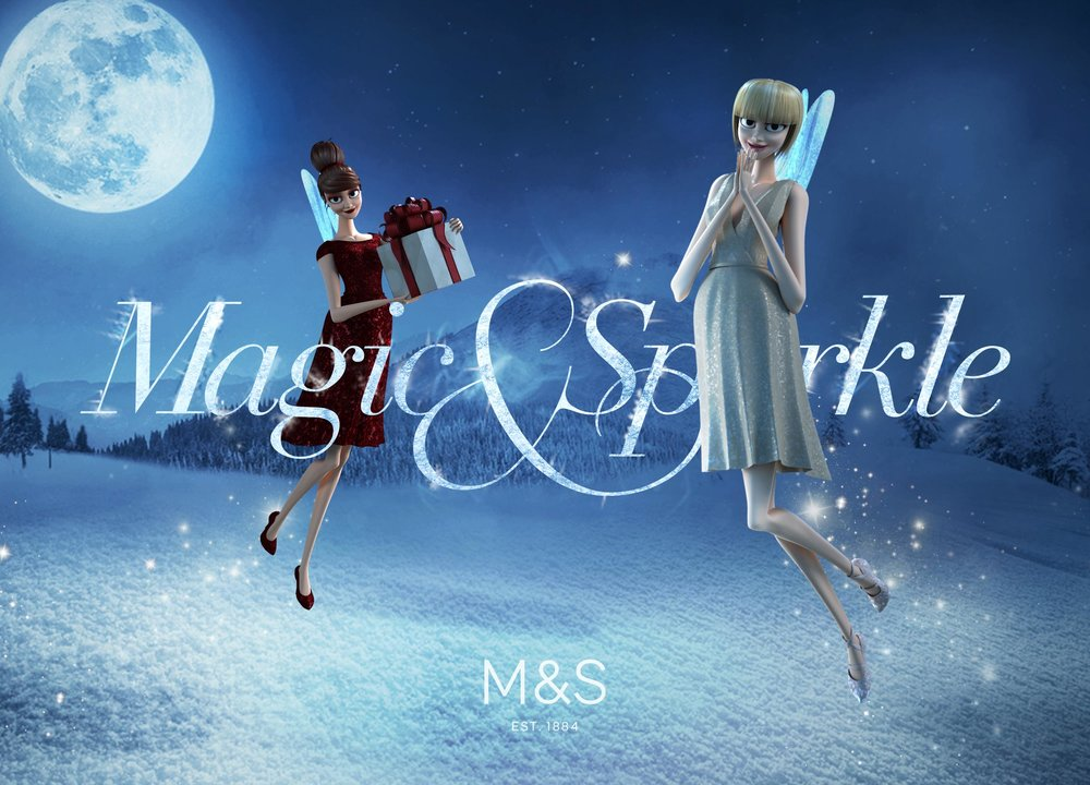 Marks and Spencer   Social campaign, responsive web design & build