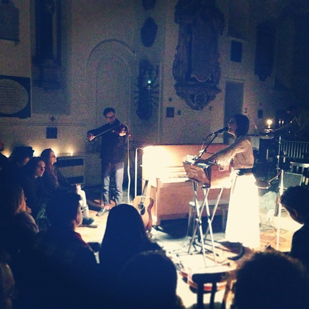 Olivia Chaney St Pancras Old Church Dec 2012