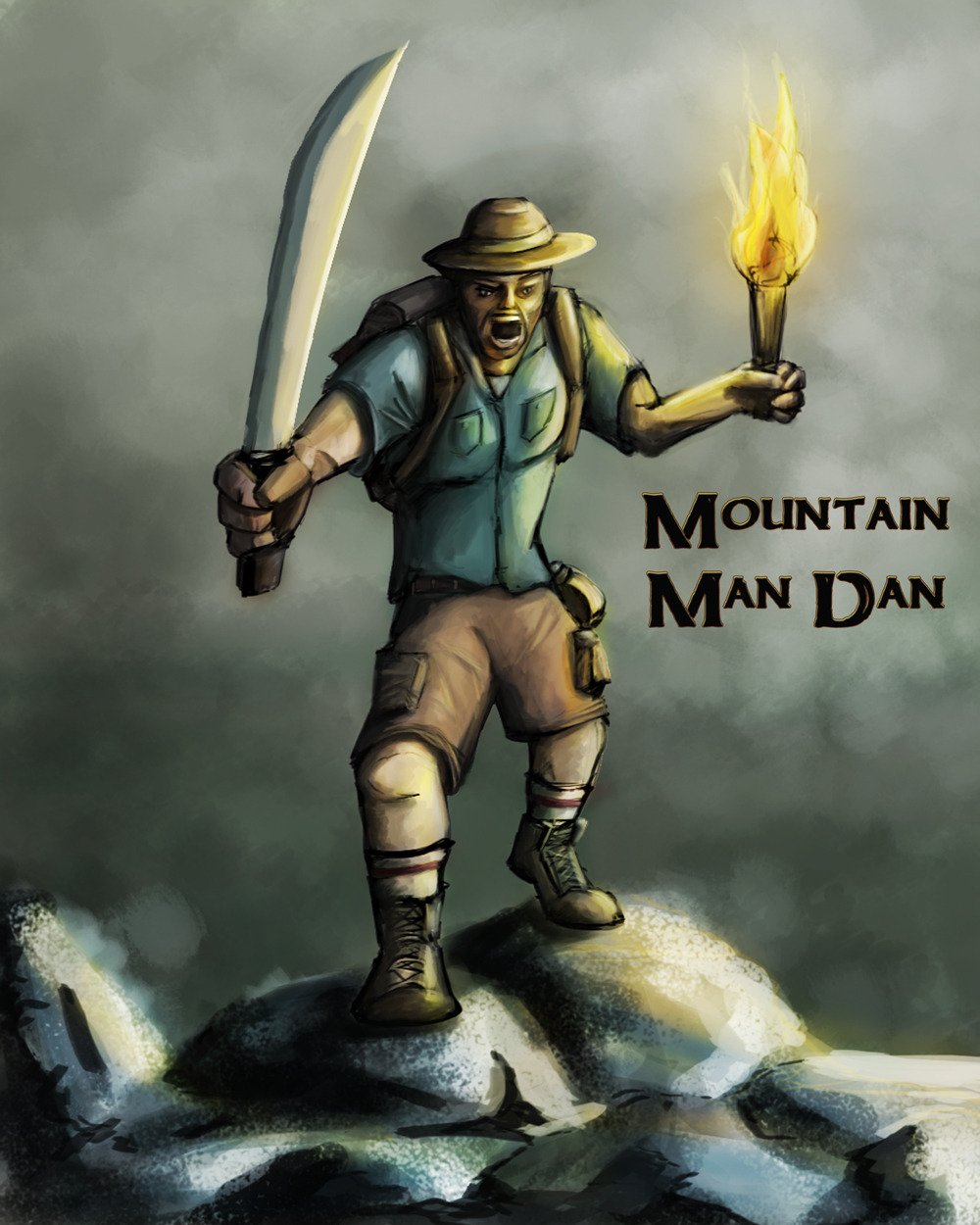 Mountain Man Dan