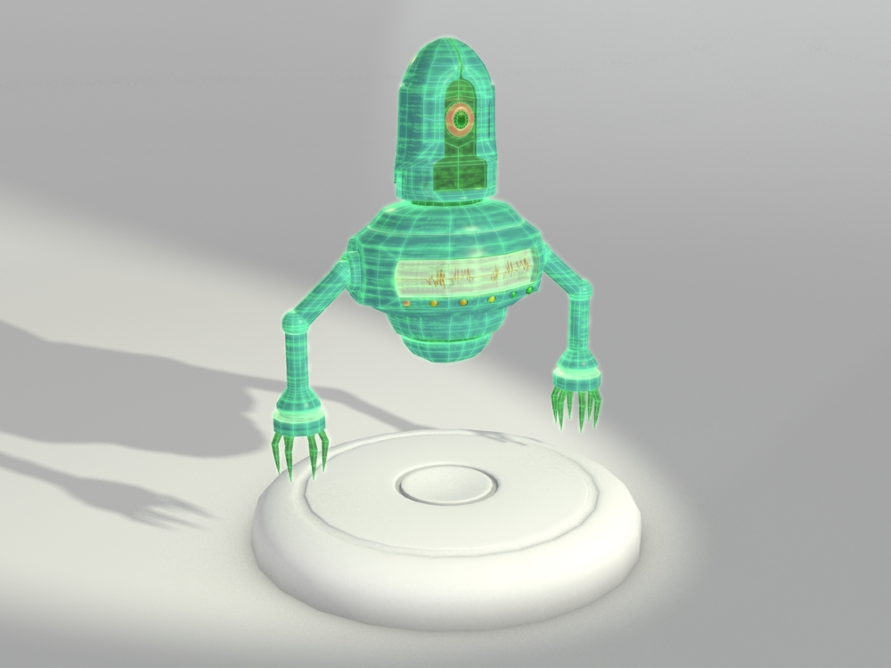 Holographic Robot Model