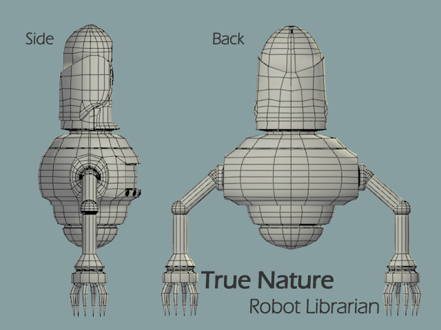 Robot Orthographic Views