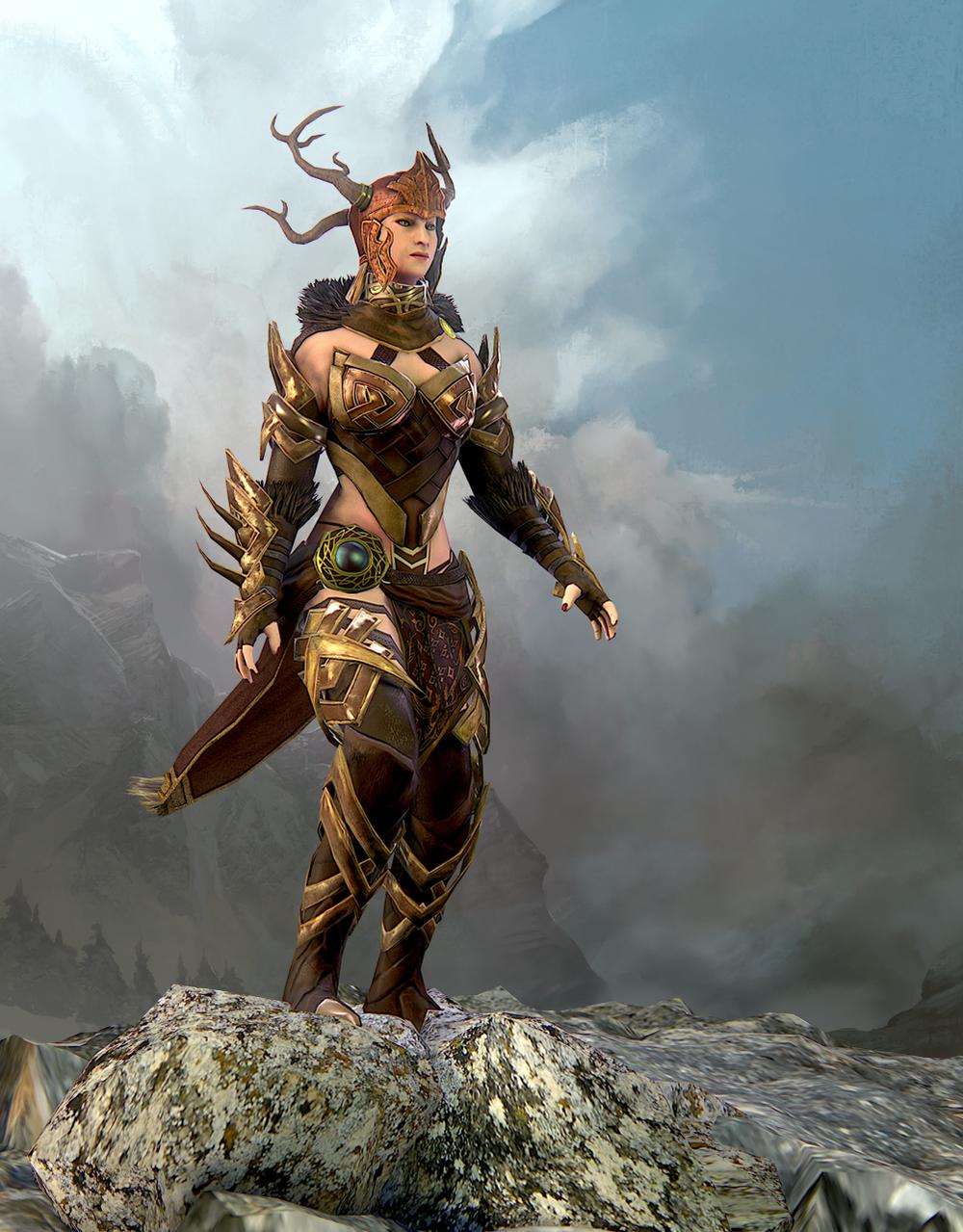 Arena-Net-Guild-Wars-Norn-Character-Art-Test-Internship-2014-Kekai-Kotaki