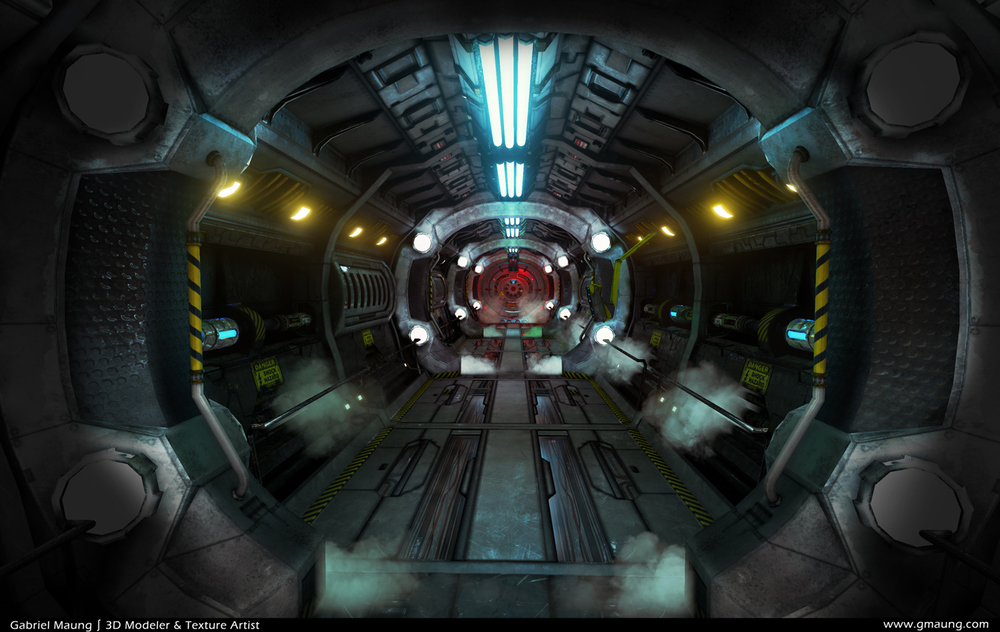 Sci-Fi-Hallway-Environment-UE4-Beauty-04