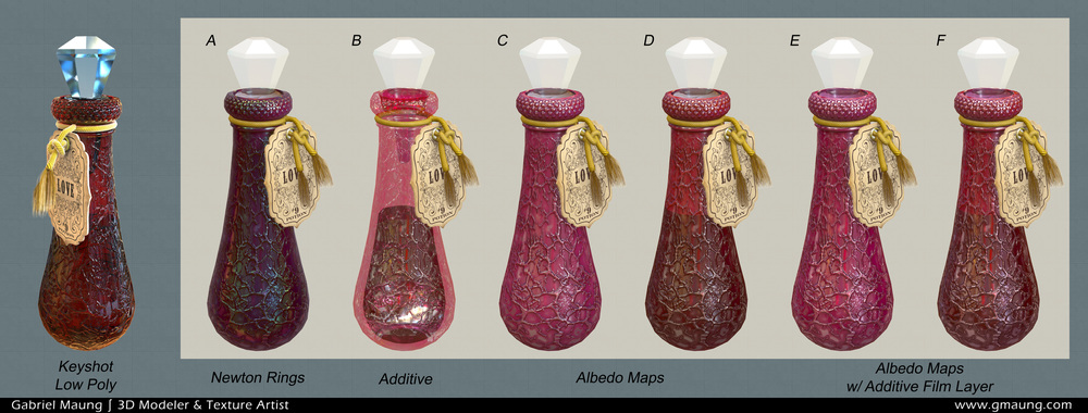 Marmoset Potion Renders