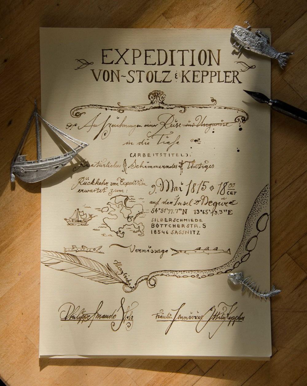 Tiefsee Einladung