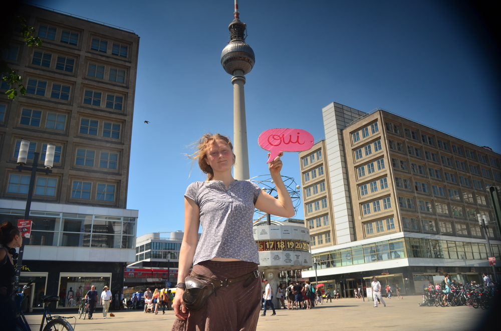 …passing Berlin, greetings from Alexanderplatz