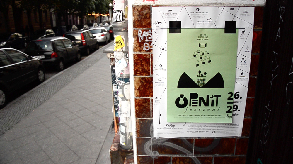 Poster design for the OPENiT Festival – 2013